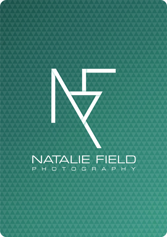 NatalieField photography logo on pattern