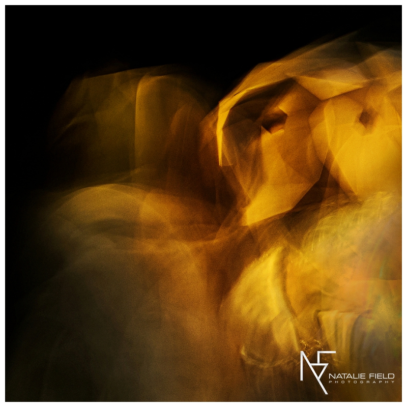 "Conceptual fashion portraiture entitled ""Animal Within"" by Natalie Field Photography shows in-camera techniques like multiple exposure and long exposure featuring Wintercroft owl mask"