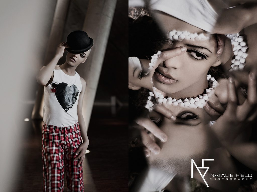 Androgynous male fashion beauty coming soon to Vaunt Magazine. Model Razz from Rage Model Management shot at Freedom Park, Pretoria by Natalie Field Photography