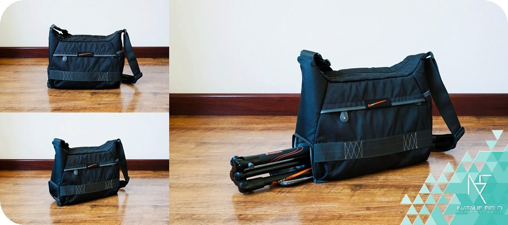 VanguardPro photographer Natalie Field product review on Vanguard VEO 37 Shoulder Bag and VEO 235AP Tripod with images