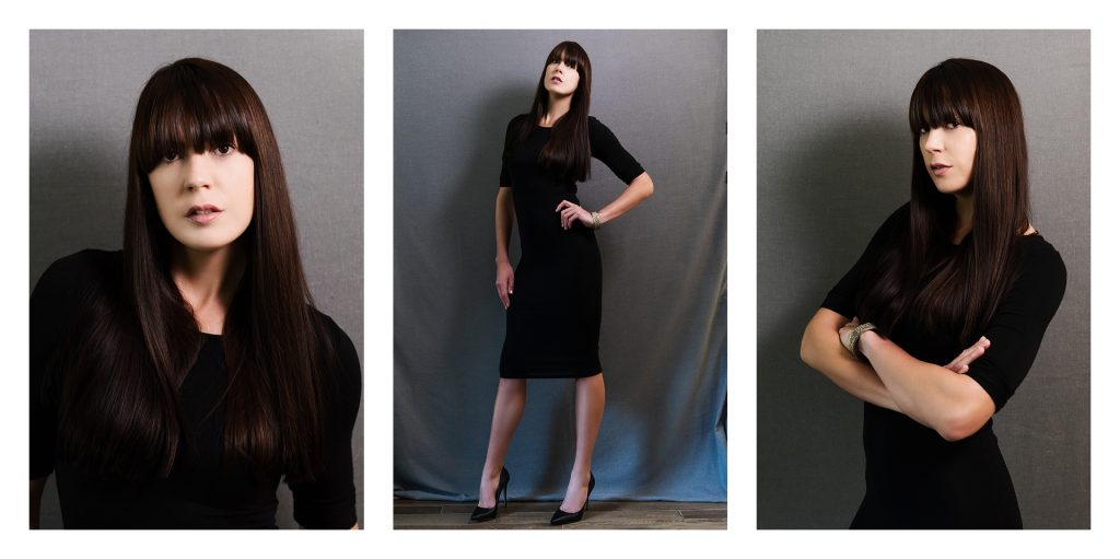 Stills created as self-portraits using set-up from slate during self-tape tutorial by Natalie Field Photography