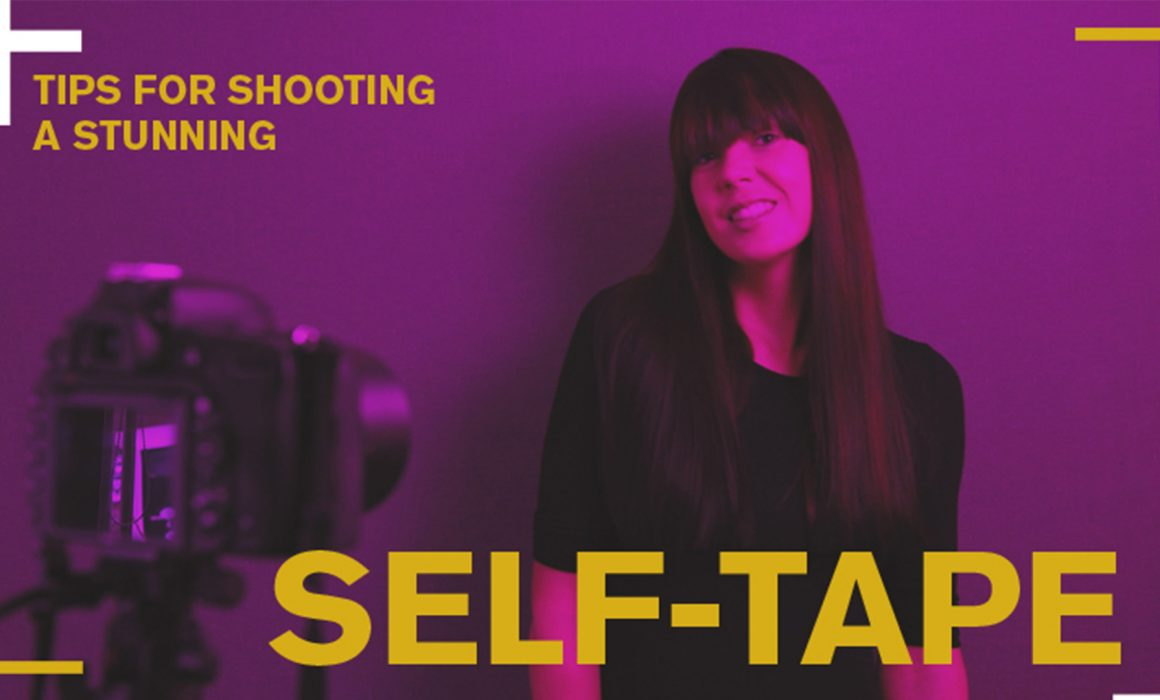 Self-Tape tutorial for actors and models for auditions and video chat photoshoots by Natalie Field Photography